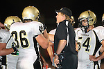 Palos Verdes, CA 09/10/09 - Frederic Warner (#36) Amir Abolghassem (#54) Coach Moen