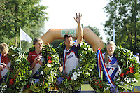 FIERLJEPPEN: GRIJPSKERK: 27-08-2016, Nederlands Kampioenschap Fierljeppen/Polsstokverspringen, ©foto Martin de Jong