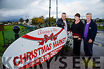 Launching Firies Christmas Market on Sunday 6th of December at 12 noon, were l-r Mike McKenna , Margaret O'Connor and David Gleeson