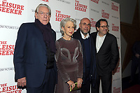 NEW YORK, NY - JANUARY 11:  Donald Sutherland, Helen Mirren, Paolo Virzi and Michael Barker  at The Leisure Seeker New York Screening at AMC Loews Lincoln Square in New York City on January 11, 2018. <br /> CAP/MPI/JP<br /> &copy;JP/MPI/Capital Pictures