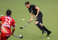 Stephen Jenness during the International Hockey match between the  Blacksticks Men and Japan, TET Multisport Centre, Stratford, New Zealand. Monday 14  October 2019. Photo: Simon Watts/www.bwmedia.co.nz/HockeyNZ