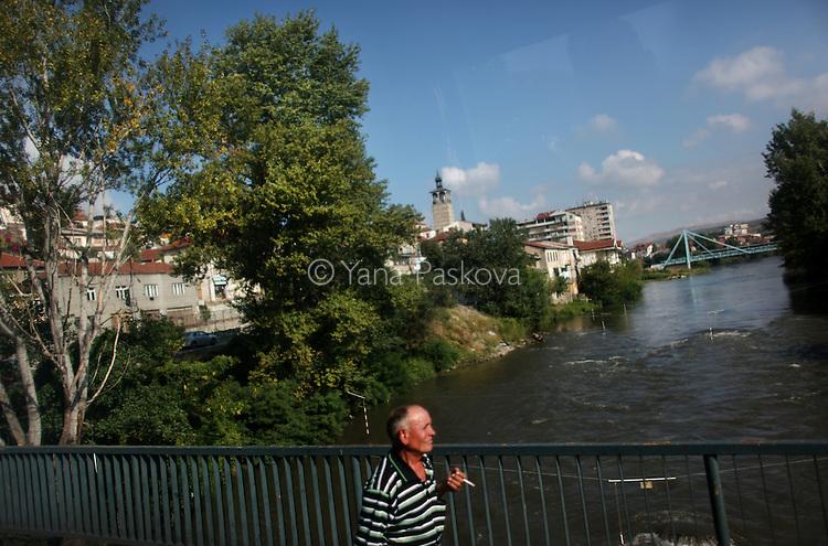 A bridge in Titovelis, Macedonia on Sunday, September 05, 2010.
