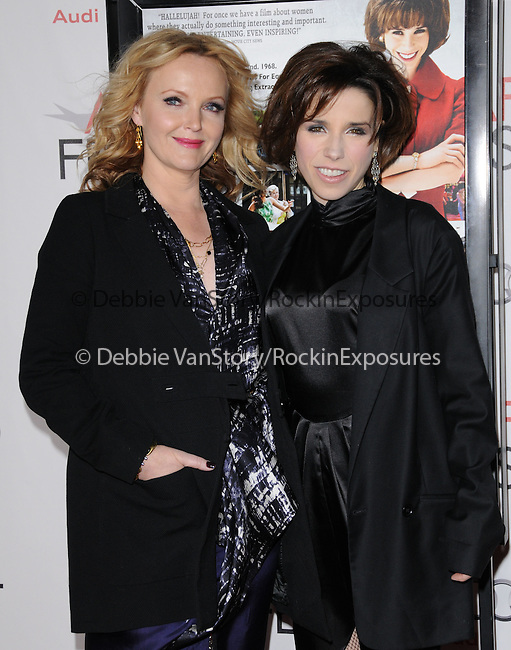 Miranda Richardson and Sally Hawkins attends the AFI FEST 2010 Special Screening of MADE IN DAGENHAM held at The Mann's 6 Theatre in Hollywood, California on November 08,2010                                                                               © 2010 Hollywood Press Agency