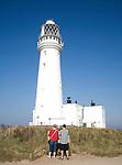 Lighthouse, Flamborough Head, Yorkshire, England
