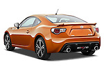 Rear three quarter view of a 2013 Toyota GT86 Sport Coupe