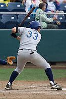 August 7, 2007: Tri-City Dust Devils' infielder Phillip Cuadrado during an at-bat against the Everett AquaSox in a Northwest League game at Everett Memorial Stadium in Everett, Washington.