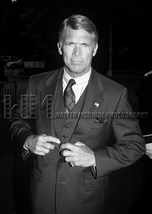 Chad Everett at the ABC-TV Fall Line-up Party at Gabrielle Restaurant in New York City on May 10th, 1994.