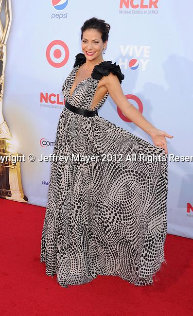 PASADENA, CA - SEPTEMBER 16: Constance Marie arrives at the 2012 NCLR ALMA Awards at Pasadena Civic Auditorium on September 16, 2012 in Pasadena, California.