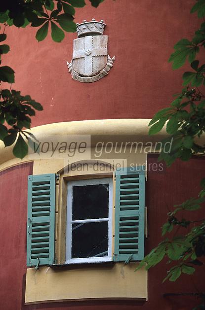Europe/France/Provence-Alpes-Côte d'Azur/06/Alpes-Maritimes/Nice/AOC Bellet: Détail Château de Bellet