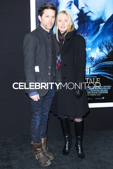 "NEW YORK, NY - FEBRUARY 11: Jon Patrick Walker, Hope Davis at the World Premiere Of Warner Bros. Pictures' ""Winter's Tale"" held at Ziegfeld Theatre on February 11, 2014 in New York City. (Photo by Jeffery Duran/Celebrity Monitor)"