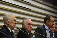 03.10.2019 - Paulo Skaf recebe Michel Temer na Fiesp em SP