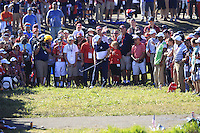 JB Holmes (Team USA) during Sunday Singles matches at the Ryder Cup, Hazeltine National Golf Club, Chaska, Minnesota, USA. 02/10/2016<br /> Picture: Golffile   Fran Caffrey<br /> <br /> <br /> All photo usage must carry mandatory copyright credit (&copy; Golffile   Fran Caffrey)