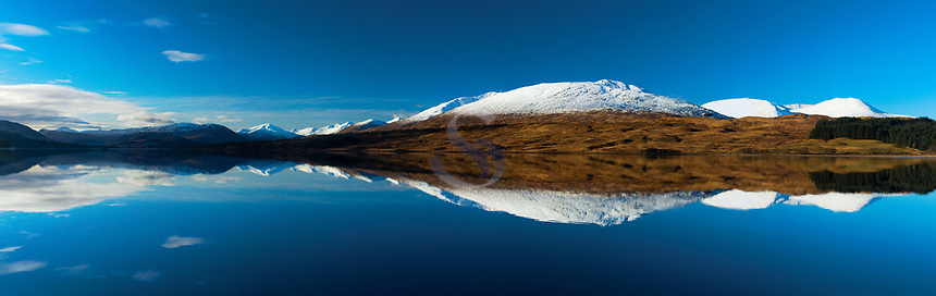 Beinn Toaig reflected in Loch Tulla, Argyll & Bute