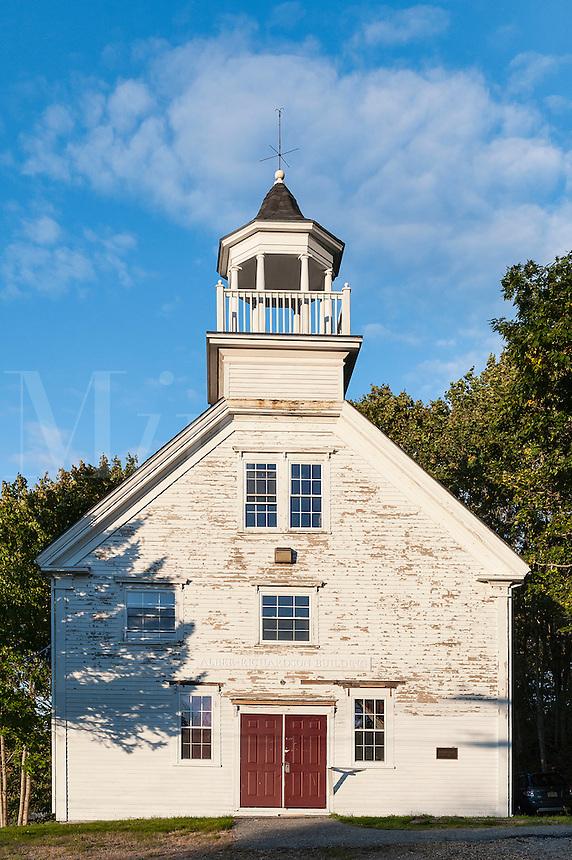 Historic Albee-Richardson Building, Machias, Maine, USA