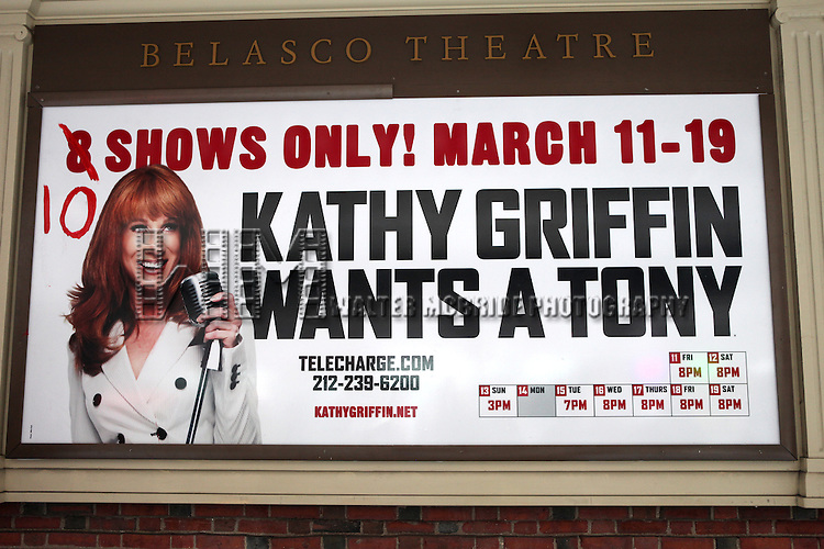 "''Kathy Griffin Wants A Tony"" Meet & Greets the press and fans after adding two shows to her Broadway Engagement at the Belasco Theatre in New York City."