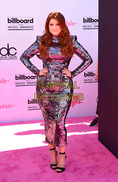 LAS VEGAS, NV - MAY 22: Singer-songwriter/producer Meghan Trainor attends the 2016 Billboard Music Awards at T-Mobile Arena on May 22, 2016 in Las Vegas, Nevada.<br /> CAP/ROT/TM<br /> &copy;TM/ROT/Capital Pictures