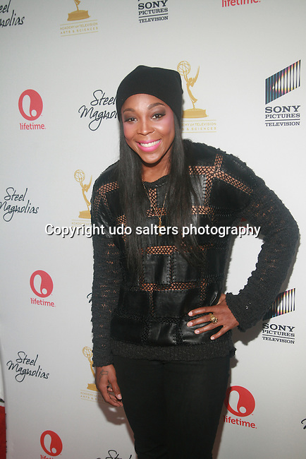WNBA Pointguard Cappie Pondexter  attends the world premiere of the Lifetime Original Movie Event, Steel Magnolias held at the Paris Theater, NY 10/3/12