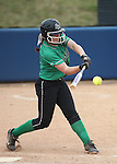Rancho's Gianna Carosone hits against Reed during NIAA DI softball action at the University of Nevada, in Reno, Nev., on Thursday, May 19, 2016. Cathleen Allison/Las Vegas Review-Journal
