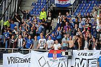 VOETBAL: HEERENVEEN, 18-08-2013, SC Heerenveen - Heracles 2-4, Heracles suporters, ©foto Martin de Jong