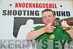 IRISH TEAM: Liam Walsh, Castleisland of the Knocknagoshel Gun Club who will be representing Ireland in the World Shooting Championship in July.