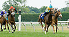 Starry winning at Delaware Park on 7/21/12