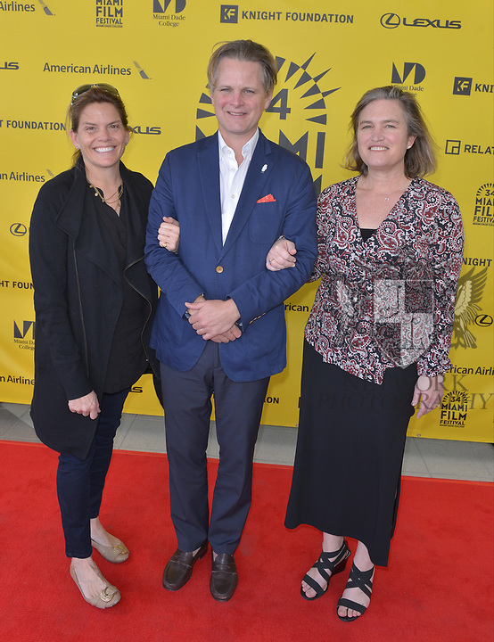 MIAMI, FL - MARCH 04: Anne Flatté, Owsley Brown and Christy McGill attend the Miami Film Festival screening for 'Serenade for Haiti' at Regal South Beach on March 4, 2017 in Miami, Florida.  ( Photo by Johnny Louis / jlnphotography.com )