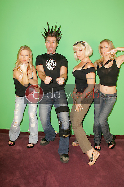 Elaine Klimaszewski and Phil X with Ninette Terhart and Diane Klimaszewski<br />