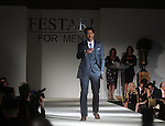 Michael Scheurich walks the runway at the Una Notte in Italia event at the Westin Galleria Hotel Friday Nov. 07, 2014.(Dave Rossman photo)