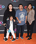 LOS ANGELES, CA - NOVEMBER 08: Actor Guillermo Rodriguez and family arrive at the premiere of Disney Pixar's 'Coco' at El Capitan Theatre on November 8, 2017 in Los Angeles, California.
