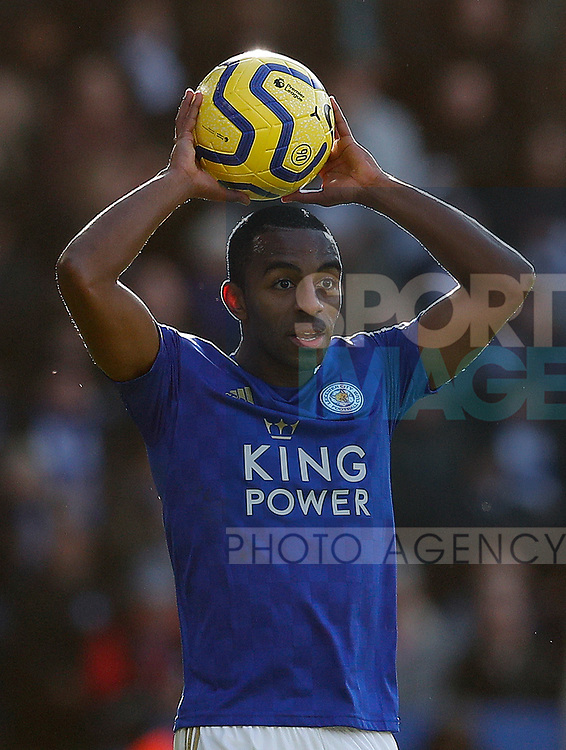 Ricardo Pereira of Leicester City during the Premier League match against Chelsea at the King Power Stadium, Leicester. Picture date: 1st February 2020. Picture credit should read: Darren Staples/Sportimage