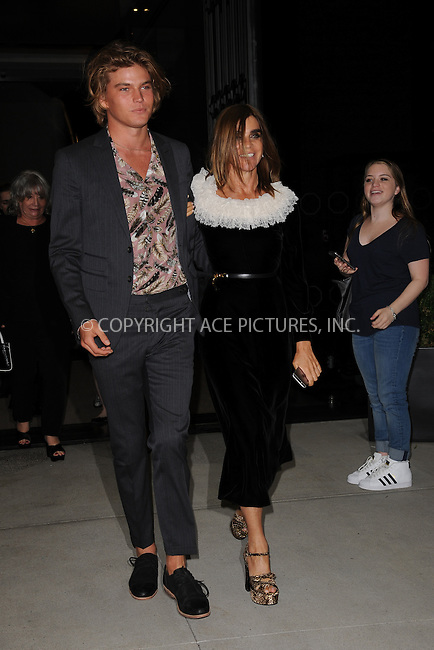 www.acepixs.com<br /> September 8, 2016  New York City<br /> <br /> Carine Roitfeld attending the The Daily Front Row's 4th Annual Fashion Media Awards at Park Hyatt New York on September 8, 2016 in New York City. <br /> <br /> <br /> Credit: Kristin Callahan/ACE Pictures<br /> <br /> <br /> Tel: 646 769 0430<br /> Email: info@acepixs.com
