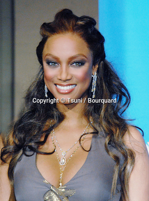 Tyra Banks arriving at The 37th Annual NAACP Images Awards at the Shrine Auditorium In Los Angeles. February 25, 2006.