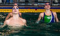Mariangela Perrupato (dietro); Giorgio Minisini (sx); Manila Flamini (dx) <br /> Duo misto sincro Italia<br /> Nuoto Sincronizzato - Synchronised Swimming<br /> Roma Centro Federale Pietralata 10 dicembre 2014<br /> Photo Rita Pannunzi/Deepbluemedia