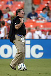 11 August 2004: Rapids General Manager Dan Counce. DC United defeated the Colorado Rapids 3-1 at RFK Stadium in Washington, DC during a regular season Major League Soccer game..