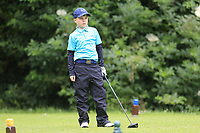 Scott McCabe (Massereene) during the Connacht U14 Boys Amateur Open, Ballinasloe Golf Club, Ballinasloe, Galway,  Ireland. 10/07/2019<br /> Picture: Golffile | Fran Caffrey<br /> <br /> <br /> All photo usage must carry mandatory copyright credit (© Golffile | Fran Caffrey)