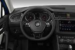 Car pictures of steering wheel view of a 2019 Volkswagen Tiguan Confrontline-business  5 Door SUV