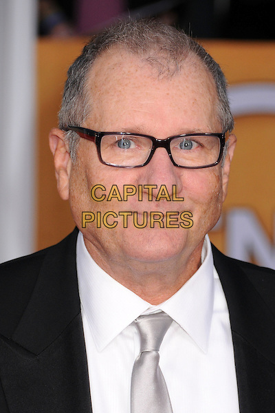Ed O'Neill.Arrivals at the 19th Annual Screen Actors Guild Awards at the Shrine Auditorium in Los Angeles, California, USA..27th January 2013.SAG SAGs headshot portrait white shirt black blue tie glasses .CAP/ADM/BP.©Byron Purvis/AdMedia/Capital Pictures
