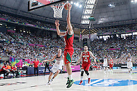 Mexico's Roman Martinez during 2014 FIBA Basketball World Cup Round of 16 match.September 6,2014.(ALTERPHOTOS/Acero)