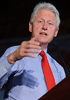 ***FILE PHOTO*** Bill Clinton Has Not Apologized To Monica Lewinsky And Claims Did The Right Thing Staying In Office.<br /> <br /> EDISON, NJ - MAY 27: Former President Bill Clinton campaigns for wife Hillary Clinton at Edison High School in Edison, New Jersey on May 27, 2016. <br /> CAP/MPI01<br /> &copy;MPI01/Capital Pictures