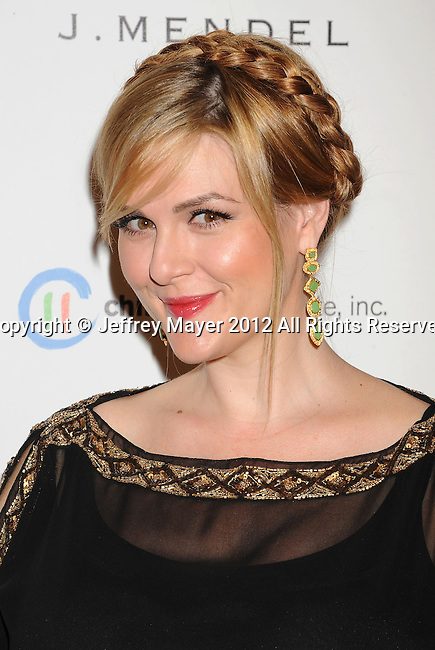 WEST HOLLYWOOD, CA - OCTOBER 17: Sara Rue arrives at the 3rd Annual Autumn party at The London West Hollywood on October 17, 2012 in West Hollywood, California.