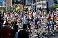Inauguração da ciclovia da avenida Paulista. Sao Paulo. 2015. Foto de Lineu Kohatsu.