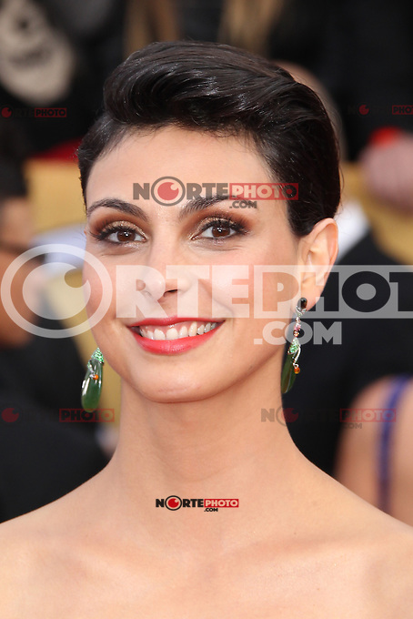 LOS ANGELES, CA - JANUARY 27: Morena Baccarin at The 19th Annual Screen Actors Guild Awards at the Los Angeles Shrine Exposition Center in Los Angeles, California. January 27, 2013. Credit: MediaPunch Inc.