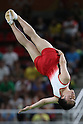 Masaki Ito (JPN),<br /> AUGUST 13, 2016 - Trampoline : <br /> Men's Final<br /> at Rio Olympic Arena <br /> during the Rio 2016 Olympic Games in Rio de Janeiro, Brazil. <br /> (Photo by Koji Aoki/AFLO SPORT)
