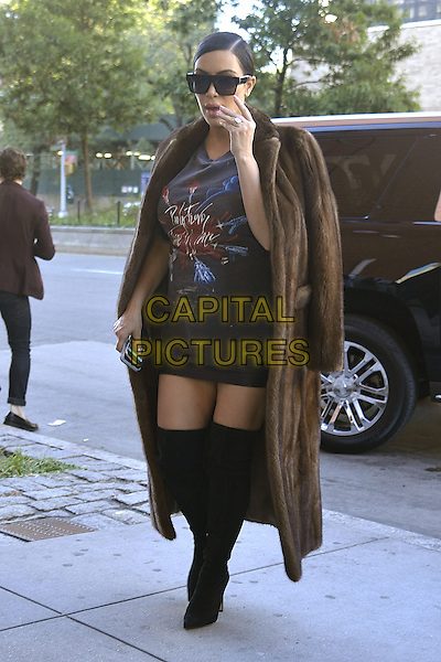 NEW YORK, NY - SEPTEMBER 15:  Kim Kardashian seen in New York City on September 15, 2015. <br /> CAP/MPI67<br /> &copy;MPI67/Capital Pictures