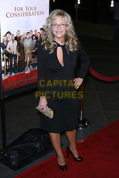 "RACHAEL HARRIS.""For Your Consideration"" Los Angeles Premiere - Arrivals held at the Director's Guild, Hollywood, California , USA,13 November 2006..full length black dress glasses hand on hip.Ref: ADM/ZL.www.capitalpictures.com.sales@capitalpictures.com.©Zach Lipp/AdMedia/Capital Pictures."