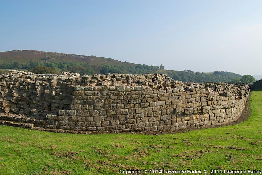 Day 6 - At Vindolanda Fort excavations