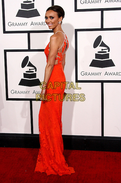 LOS ANGELES, CA - JANUARY 26 - Giuliana Rancic. 56th GRAMMY Awards held at the Staples Center. <br /> CAP/ADM<br /> &copy;AdMedia/Capital Pictures