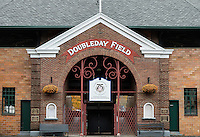 Doubleday Field baseball park, Cooperstown, New York, USA
