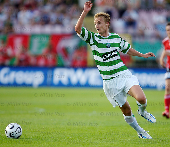 Jiri Jarosik, Celtic.stock season 2006-2007.pic willie vass