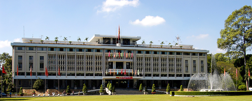 Re-Unification, Palace, Saigon, Vietnam, Ho Chi Minh City, Pre 1975 presidential palace